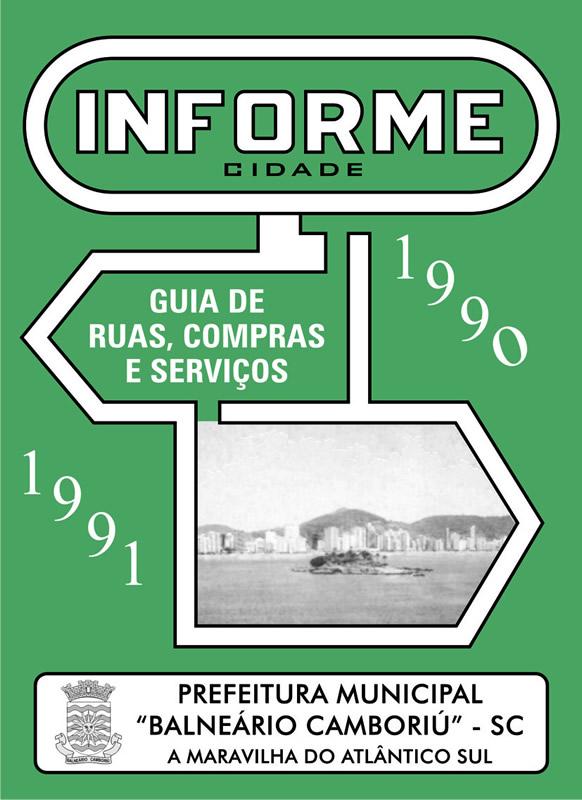 Guia Informe Capa Edição 1991