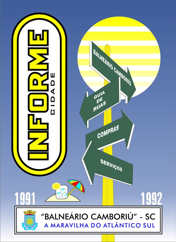 Guia Informe Capa Edição 1992