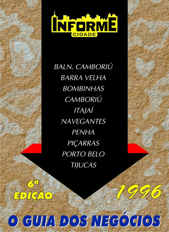 Guia Informe Capa Edição 1996