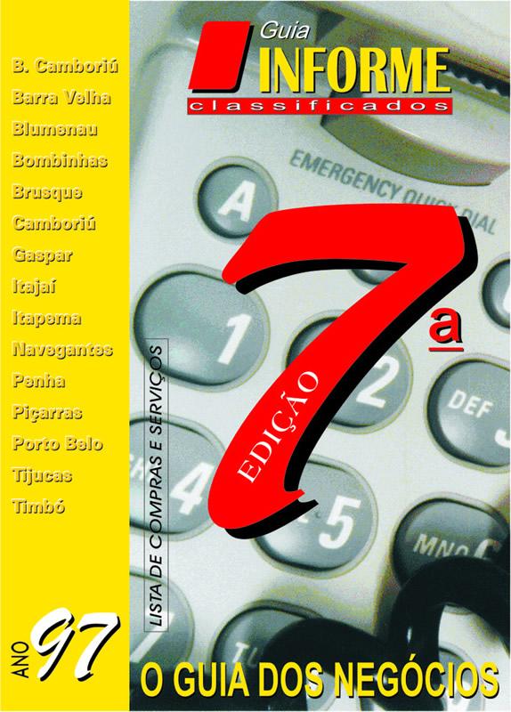 Guia Informe Capa Edição 1997