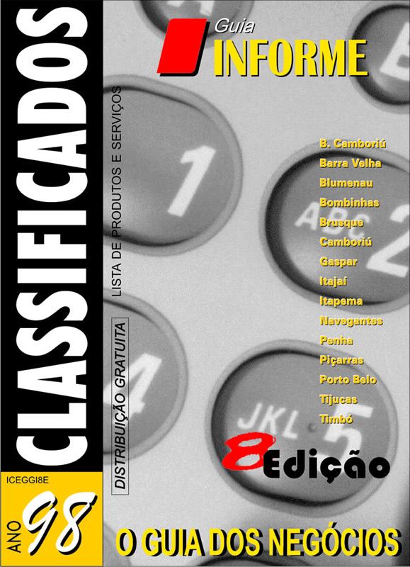 Guia Informe Capa Edição 1998