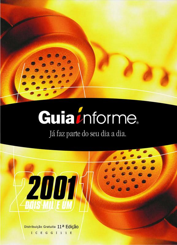 Guia Informe Capa Edição 2001