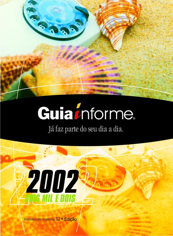 Guia Informe Capa Edição 2002