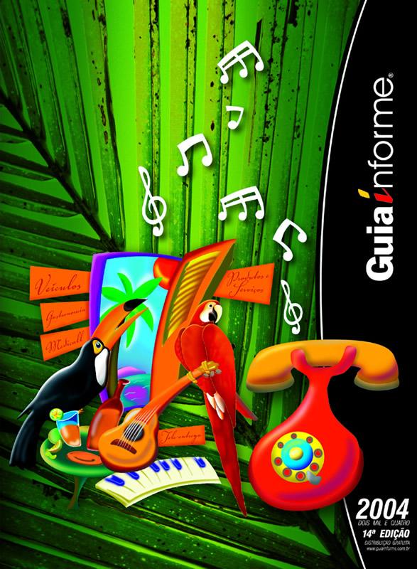 Guia Informe Capa Edição 2004