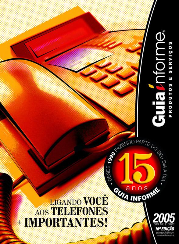 Guia Informe Capa Edição 2005
