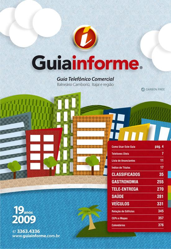 Guia Informe Capa Edição 2009