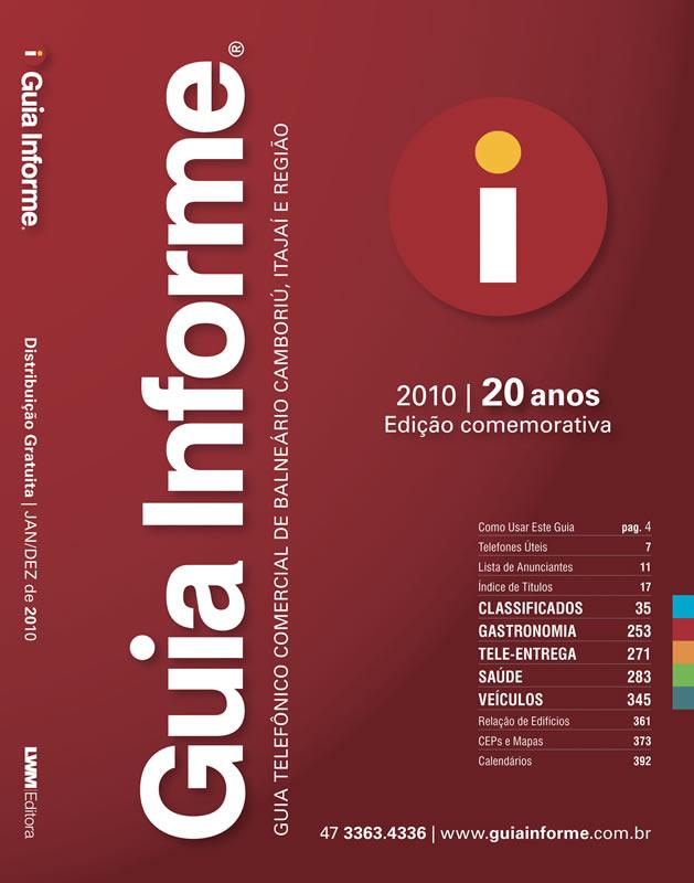 Guia Informe Capa Edição 2010