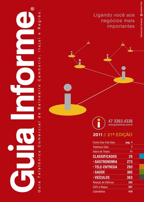 Guia Informe Capa Edição 2011