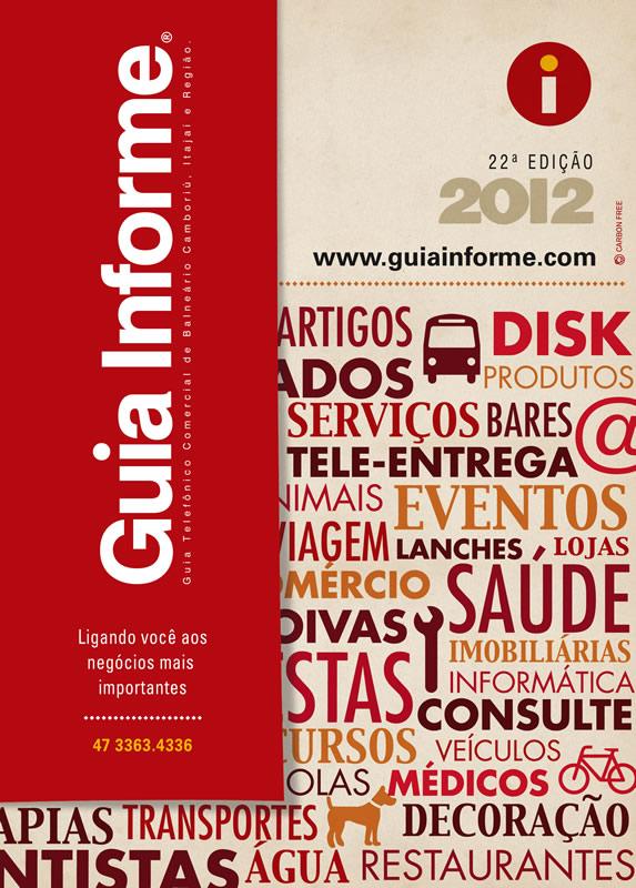 Guia Informe Capa Edição 2012