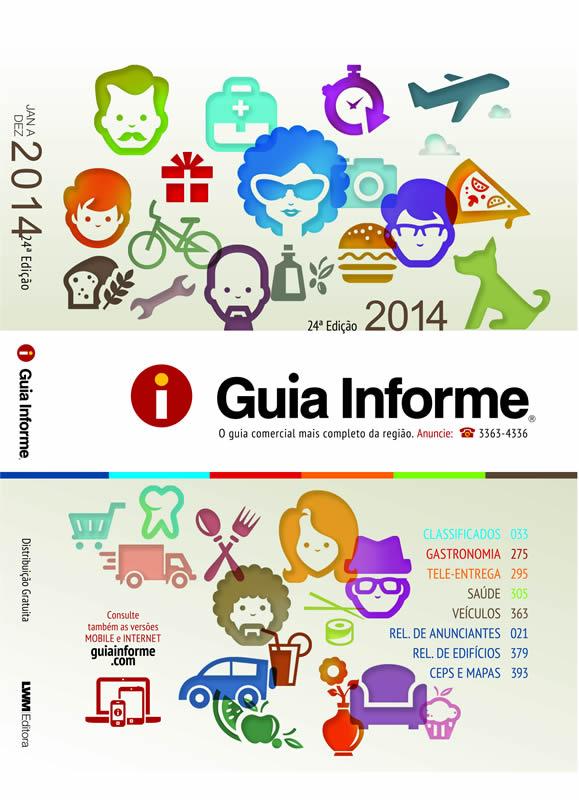 Guia Informe Capa Edição 2014