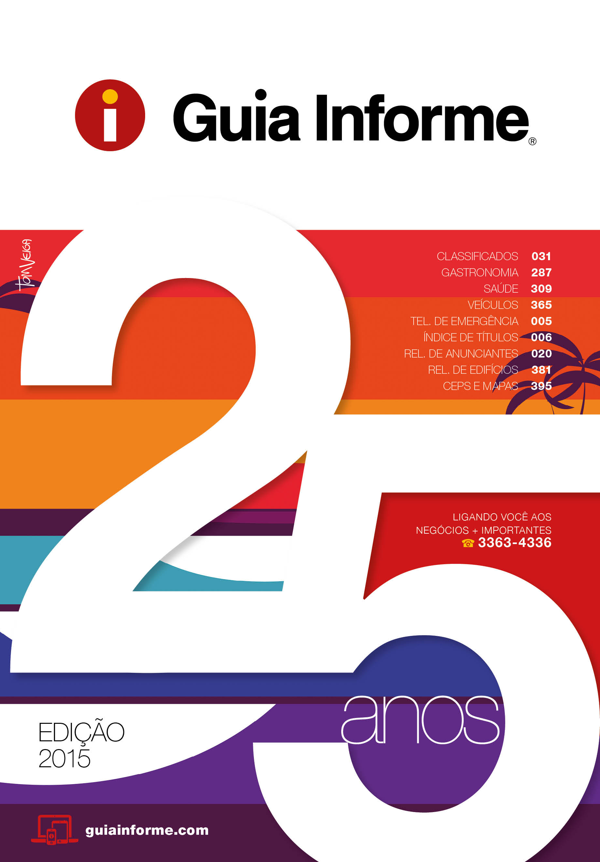 Guia Informe Capa Edição 2015