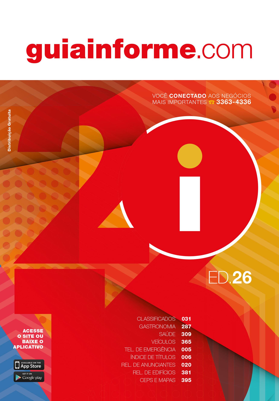 Guia Informe Capa Edição 2016